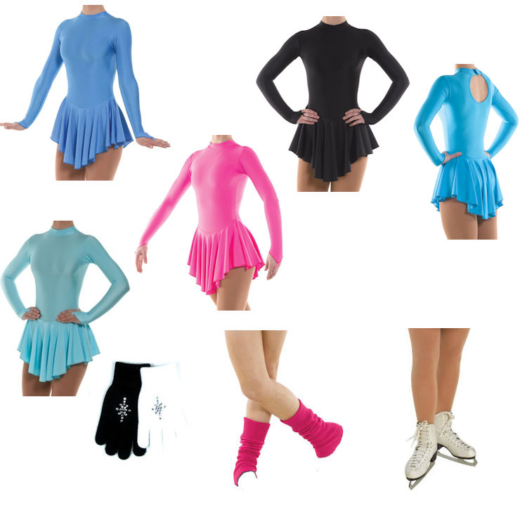 Childrens Ice Skating Outfit Package Deal
